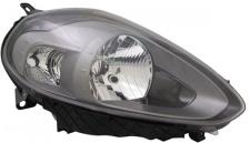 H4 / P21W Scheinwerfer Anthrazit rechts TYC für FIAT Punto 199 12-