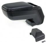 Mittelarmlehne Armlehne verstellbar mit Ablagefach schwarz für Skoda Fabia 5J