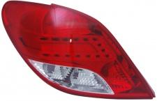 LED RÜCKLEUCHTE / HECKLEUCHTE LINKS TYC FÜR Peugeot 207 3+5 TÜRER 09-12
