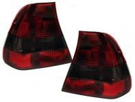 Rückleuchten rot schwarz Kristall für BMW 3ER E46 Compact