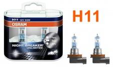 Night Breaker Unlimited H11 55W 12v Osram Halogen Leuchtmittel