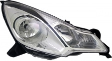 H1 / H7 Scheinwerfer schwarze Blende rechts TYC für Citroen DS3 09-