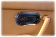 Türöffner Rahmen Edelstahl - 2 Stck für Mazda MX 5 Mx5 NA