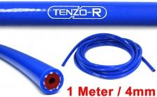 Tenzo-R Performance Silikon Schlauch verstärkt Länge 1M blau 4mm