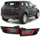 Dynamic LED Lightbar Rückleuchten rot klar für Range Rover Evoque LV ab 11