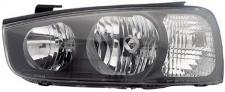 H1 / H7 Scheinwerfer links TYC für Hyundai Elantra 00-03