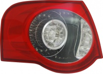 LED Rückleuchte / Heckleuchte links TYC für VW Passat Kombi 3C5 05-