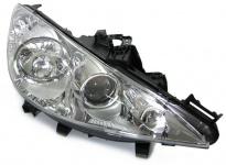 H7 H7 H1 Scheinwerfer mit Nebel rechts für Peugeot 207 ab 06
