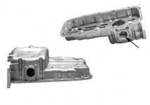 Ölwanne mit Loch für Sensor für Opel Astra F G Corsa B Tigra 1.4 / 1.6 / 16V
