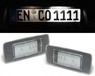 LED Kennzeichenbeleuchtung weiß 6000K für Opel Astra J Kombi ab 10 Zafira C