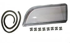 Scheinwerferglas Streuscheibe H7/H7 links TYC für Volvo V40 95-04
