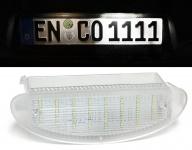 LED Kennzeichenbeleuchtung weiß 6000K für Renault Twingo I 93-07 Clio II 98-05