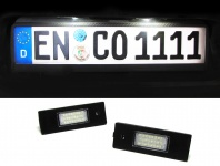 LED Kennzeichenbeleuchtung weiß 6000K für ALFA Romeo 156 159 166 147 GT Bera