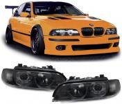 Xenon Scheinwerfer mit Blinker schwarz Paar für BMW 5er E39 95-00