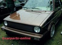 SPORTGRILL KÜHLERGRILL OHNE EMBLEM FÜR VW Golf 1 + Cabrio