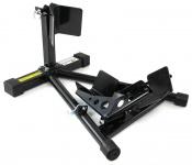 Motorrad Montage Ständer mit Vorderradaufnahme bis 680kg schwarz