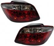 Klarglas Rückleuchten rot klar für Peugeot 307 01-05