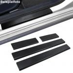 Einstiegsleisten Schutz schwarz Exclusive für Peugeot 407 5Türer ab 04