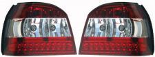 KLARGLAS LED RÜCKLEUCHTEN ROT KLAR FÜR VW Golf 3 91-97