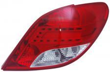 LED RÜCKLEUCHTE / HECKLEUCHTE RECHTS TYC FÜR Peugeot 207 3+5 TÜRER 09-12