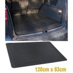 Universal Allwetter Gummi Kofferraummatte Schutz Gummimatte 120X83 CM