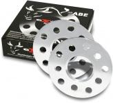 10 mm Alu Spurverbreiterung Spurplatten 5 X 100 für Skoda Fabia II 5J