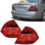 LED Rückleuchten Rot Klar für Mercedes C Klasse W203 Limousine 00-04