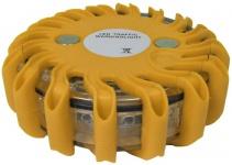 LED Warnleuchte Rundumleuchte Absicherung Warnblitzer Gelb