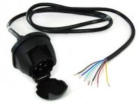 Kabel Verlängerung Adapter 1, 6 Meter 7 polig Auto Anhänger 12v