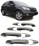 Türgriffe Abdeckungen Blenden chrom für Honda CR-V 07-12