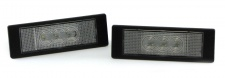 LED Kennzeichenbeleuchtung High Power weiß 6000K für BMW 6er Cabrio E64 ab 04