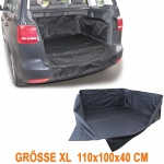 Kofferraum Schutz Matte Wanne Ladeschutz flexibel Uni Größe XL 110x100x40cm