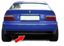 Sport Heck Diffusor Einsatz für Serien Stoßstange 3ER BMW E36