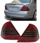 LED Rückleuchten rot schwarz für Mercedes C Klasse W203 04-07