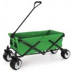 Offroad Faltwagen Handwagen Bollerwagen klappbar Breitreifen bis 80kg grün