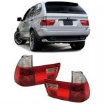 Rückleuchten rot klar Kristall für BMW X5 E53 99-03