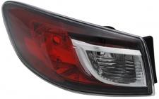 Rückleuchte / Heckleuchte Aussen links TYC für Mazda 3 Limousine BL 09-