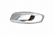 Spiegelkappe links für Peugeot 207 06-