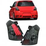 LED Klarglas Rückleuchten schwarz für Suzuki Swift III auch Sport 05-10