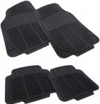 Auto Gummi Fußmatten NBR Set universal schwarz - 4-teilig