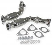 Edelstahl Downpipe Hosenrohr für Nissan 370Z 09-16