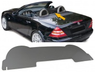 Windschutz Windschott Acrylglas smoke getönt für Mercedes SLK R170 96-04