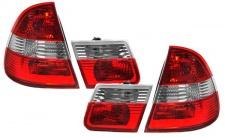 Rückleuchten rot klar rot für BMW 3ER E46 98-05 Kombi Touring