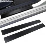 Einstiegsleisten Schutz schwarz Exclusive für Peugeot 406 Coupe 97-04