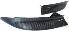 Echt Carbon Frontspoiler Flaps Splitter Ansatz für BMW 3er E46 98-05 M Technik
