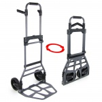 Ramroxx Profi Transport Sackkarre Stapelkarre ausziehbar klappbar bis 130 kg