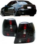 Klarglas Rückleuchten schwarz Kristall für VW Bora Limousine 98-05