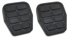 Pedal Pedalbelag Gummi Auflage für Kupplung Bremse Paar für Audi 80 90 Quattro