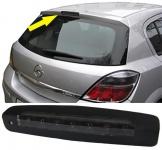 Dritte LED Bremsleuchte Klarglas schwarz für Opel Astra H 5-Türer 04-09