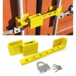 Containerschloss Sicherheitsschloss Bügelschloß Gelb